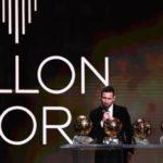 Lionel Messi sacré Ballon d'Or 2019
